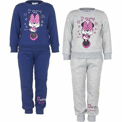 Disney Minnie Mouse Jogginganzug Sportanzug Trainingsanzug Freizeitanzug