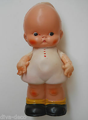 RARE Vintage 1920's Celluloid Kewpie Style Doll ~ Diddums ~ Mabel Lucie Attwell