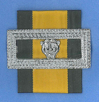 SCOUTS OF THAILAND THE BOY SCOUT CITATION SECOND CLASS MEDAL Ribbon Metal Badge