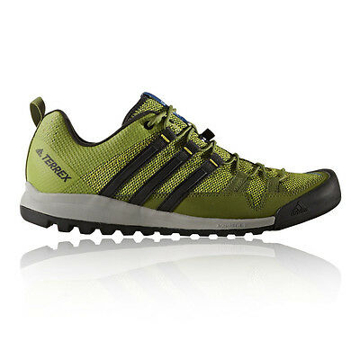 Adidas Terrex Solo Mens Yellow Outdoors Walking Camping Hiking Shoes