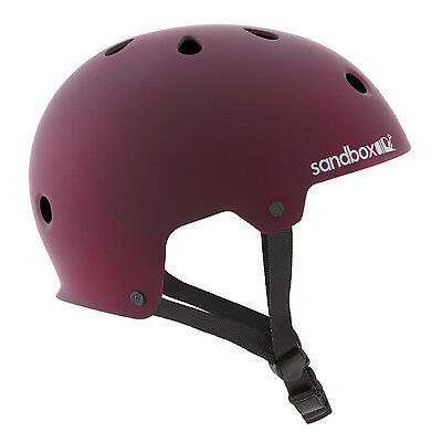 Sandbox Legend Low Rider (Burgundy Matte) Wakeboard Helmet