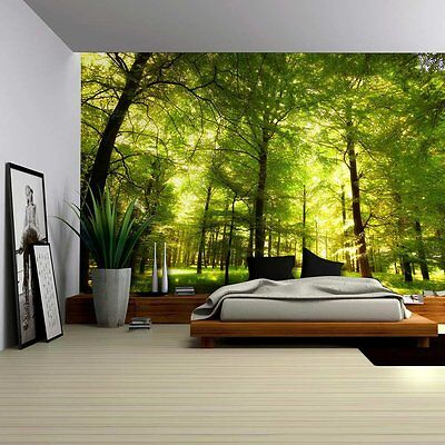 Wall26 - Crowded Forest Mural - Wall Mural, Removable Sticker, Home Decor -