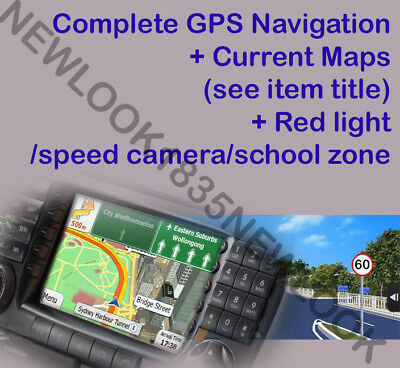 iGO Primo 8GB microSD GPS SAT NAV Software for WINCE + 2017 AUSTRALIA MAP