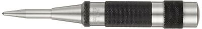 "Starrett 18C Automatic Center Punch Heavy-Duty With Adjustable Stroke, 5-1/4"" Le"