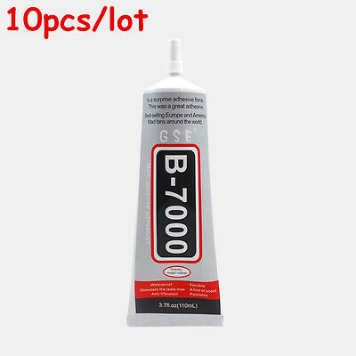 10pcs/lot B-7000 Glue Industrial Adhesive For Phone Frame Bumper Jewelry 110ml