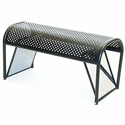 """KC Store Fixtures 52308 Shoe Bench with Mirrored Ends, 18"""" Height, 16"""" Width, 36"""