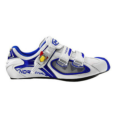 Northwave Aerlite SBS Men's Road Cycling Shoes White/Blue EU 39