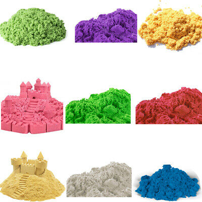 Magic Play Sand Moulding Never Dries Out Natural for Kids Children Fun Game 450g