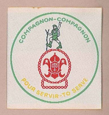 AFRICA SCOUTS OF CAMEROON - ROVER SCOUT COMPAGNON Highest Rank Top Award Patch