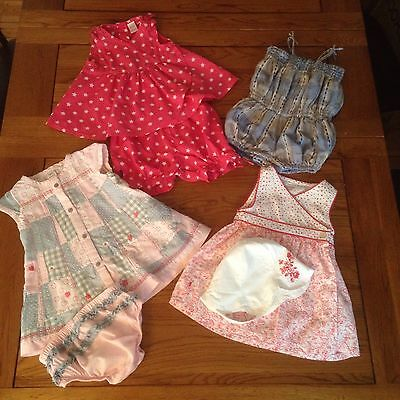 Baby Girl 3-6 month Clothes Bundle. GAP , OBAIBI, Next *(Revised +Cardigan)*
