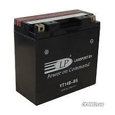 Yamaha Xvs1900A 06-13 Midnight Star Maintenance Free Battery Yt14B-Bs Yt14B4