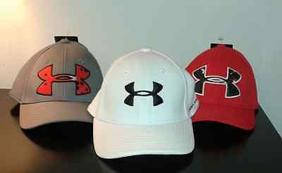 Under Armour Youth Hat/Cap * Fitted Size Medium * NWT * Choose Color