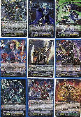 Cardfight Vanguard RR RRR SP Shadow Royal Paladin Granblue Kagero Scans Inside