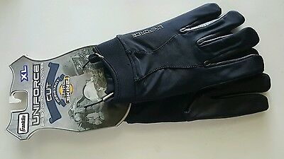 Franklin Uniforce 2nd Skinz Tactical Gloves Cut Dyneema Black Leather Size XL
