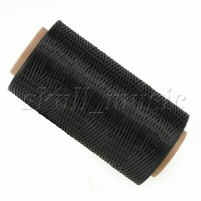 200 Meter 1mm 150D Black Leather Waxed Wax Thread Cord for DIY Hand Stitching
