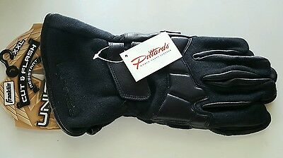 Franklin Uniforce Special Ops Gloves Cut/Flash Resistant, Long Cuff Black XXL