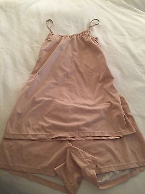 Soft Skin Stretch Softly Special Tank And Short Maternity Set Size Large