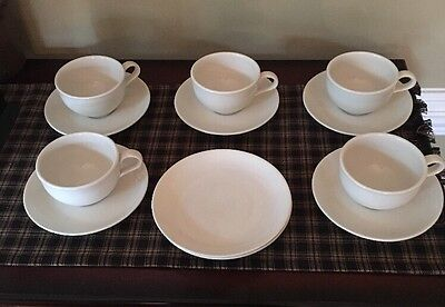 Iroquois Casual China by Russel Wright Sugar White 12 Piece Set