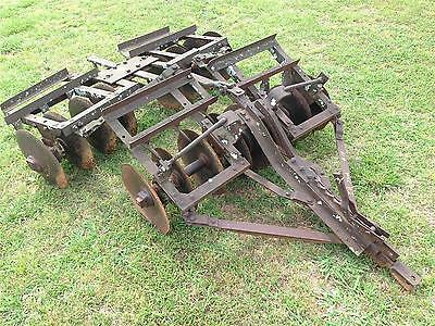 CUB-23A 4' Factory International Harvester Farmall Cub Factory Disk Harrow Disc