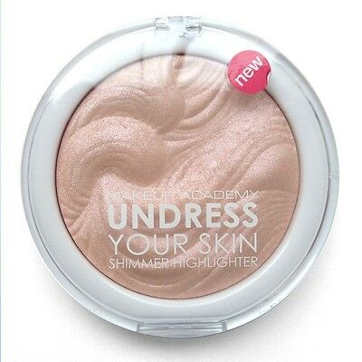 MUA Make Up Academy Undress Your Skin Highlighter Shimmer HIGHLIGHTING POWDER !!