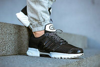 new style 473a1 81643 MENS ADIDAS CLIMACOOL 1 Clima Cool Running Sneakers New, Black / White  bb0670