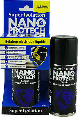 Super Electrical Insulation from 3-10000 volts. Nanoprotech