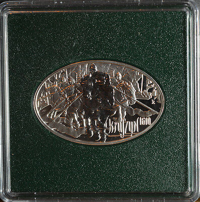 Poland 2010  10 Zlotych  Battle of Kluszyn  Sterling Silver