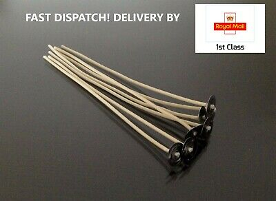 6 Inch/15cm High Quality Wick & Sustainer-Essential For Candle Making 20/50/100