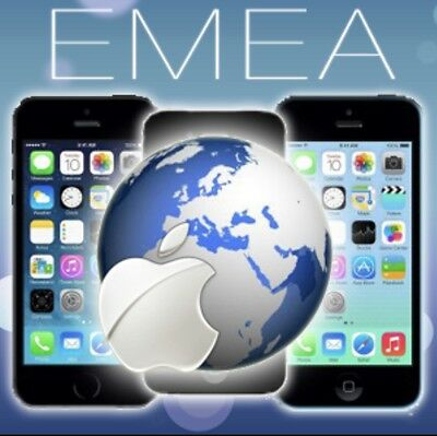 EMEA Service Factory Unlock IPhone 7 7 Plus 6s 6s+ 6 6+ 5s 5c 5