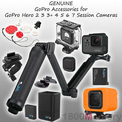 GENUINE GoPro Mount Case Battery for Hero 2 3 4 5 6 7 Session Fusion Camera 4K