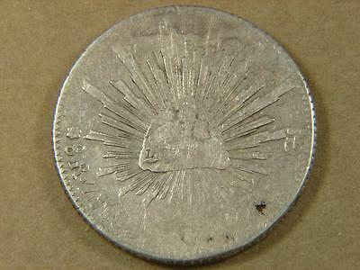 1800's Mexico 8 Reales Silver Coin