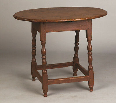 William and Mary Tavern Table Lot 386