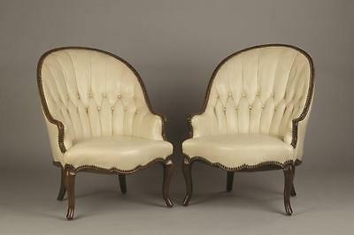 Pair of French Bergere Chairs Lot 312