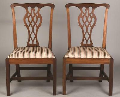 American Chippendale Mahogany Chairs Lot 397A