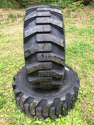 2 NEW Galaxy XD2010 12-16.5 Skid Steer Tires for Bobcat & others 12X16.5 -12 PLY