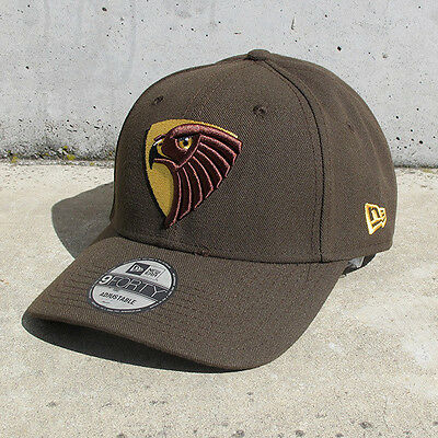 New New Era Hawthorn Hawks 9FORTY Adjustable Cap - Brown