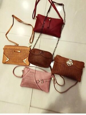 Wholesale Job Lot Ladies Handbags Cross Body Bags Mix Styles Colours 15pcs