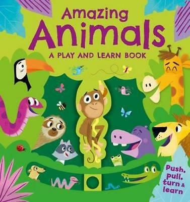 NEW Interactive Story Time - Animals By Igloo Books Board Book Free Shipping