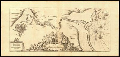 'The River Avon from the Severn to the Citty of Bristoll'. COLLINS c1774 map