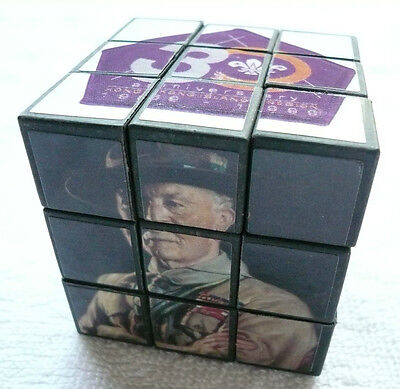 World Scouts Founder - Lord Baden Powell (BP) of Gilwell HONG KONG Souvenir Cube