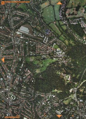 CHILDS HILL NW11 NW2 NW3.Golders Green Hampstead Heath West/Sandy Heath 2000 map