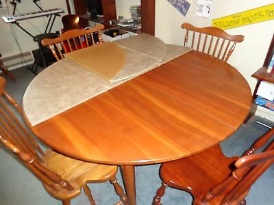 Harden solid cherry dining room set
