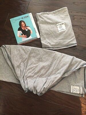 Baby K'TAN Original Baby Carrier, GRAY Extra Small XS