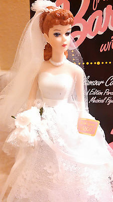 1993 From Barbie With Love Wedding Day Musical Figurine And Box Made By Enesco