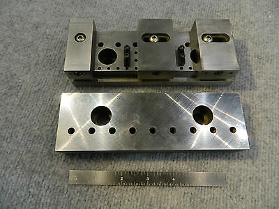 Vise Jaw Fixture Plates - Kurt & Others
