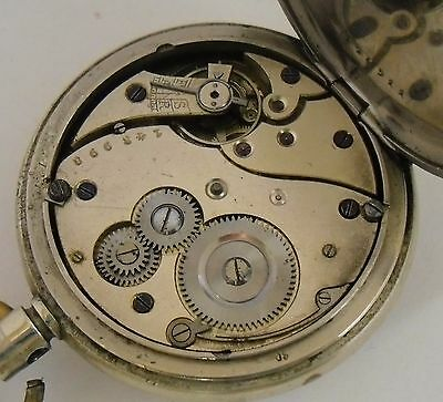 8 Days Pocket Watch for Repair High Quality 8 Day Movement  8 Dias para Reparar