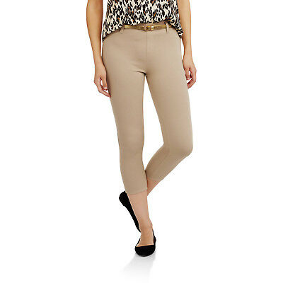 cd1e8f8db05 FADED GLORY WOMEN S Capri Length Knit Color Jegging -  11.04
