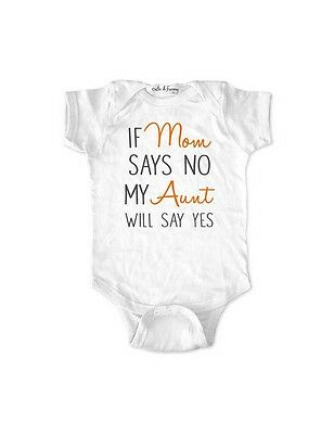 If Mom says NO My Aunt will say Yes - funny surprise baby shower birth pregnancy