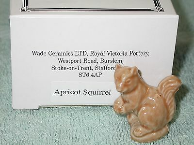 Wade England Whimsies lot of 1 Apricot Squirrel with box