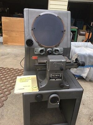 Covel (Clausing) Model 14A Optical Comparator